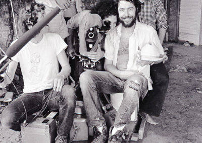 (left to right) Wayne Bell, Lynn Sherwitz, Daniel Pearl, Lou Perryman and Tobe Hooper