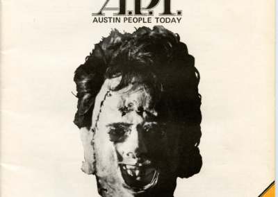 Austin People Today (APT) (Original)- Stalking LeatherfaceAustin People Today (APT) (Original)- Stalking Leatherface