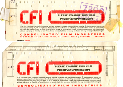 Undated TCM Print Receipt
